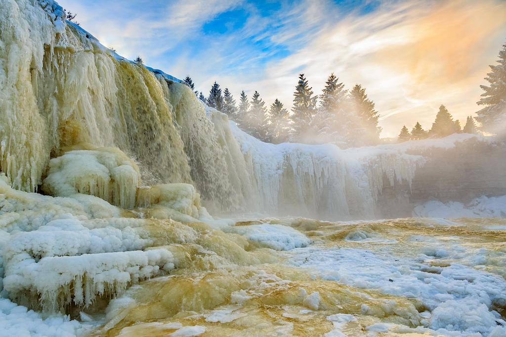 Vodopad Jagala, Estonia